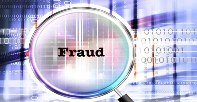 fraud under magnifying glass