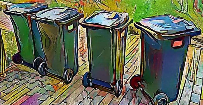 garbage-cans