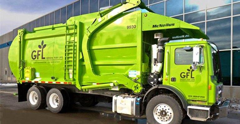 Green For Life truck