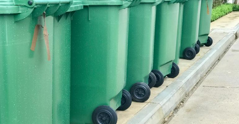 green-recycle-carts