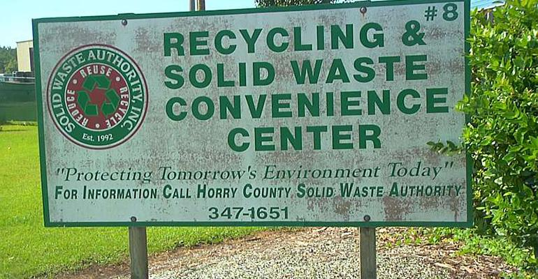 Horry County recycling