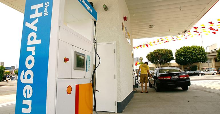 hydrogen fueling station