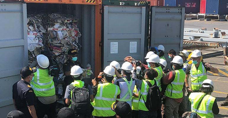 Indonesia to Send Back 547 Containers of Contaminated Materials