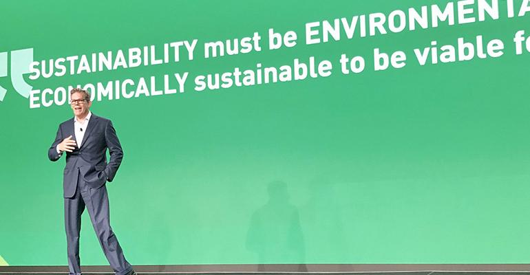 Fish Highlights WM's 2020 Vision at Sustainability Forum