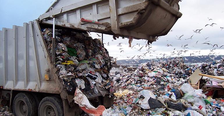 Landfill odors
