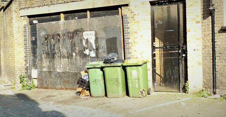 london recycling bins