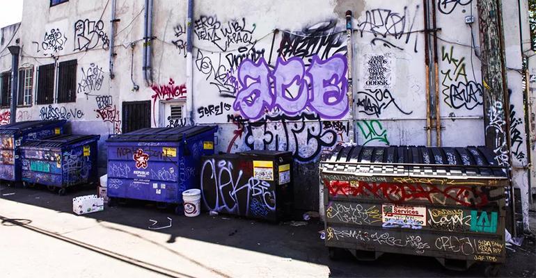 Los Angeles trash program