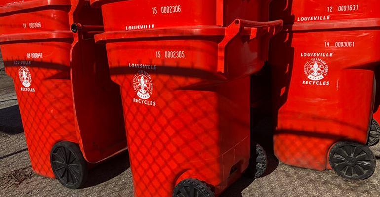 Louisville solid waste study