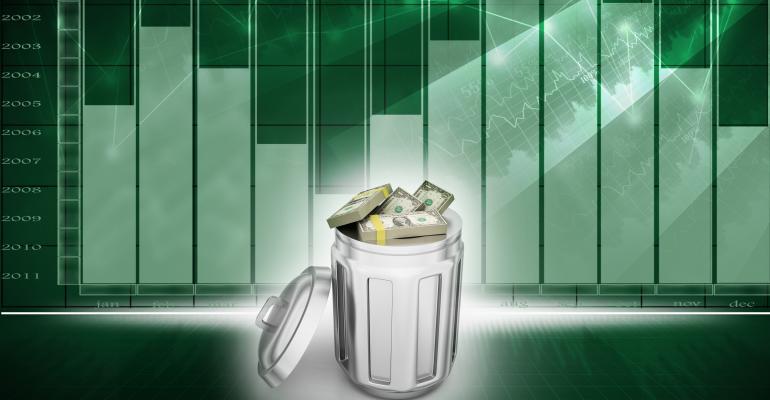 money-data-garbagecan