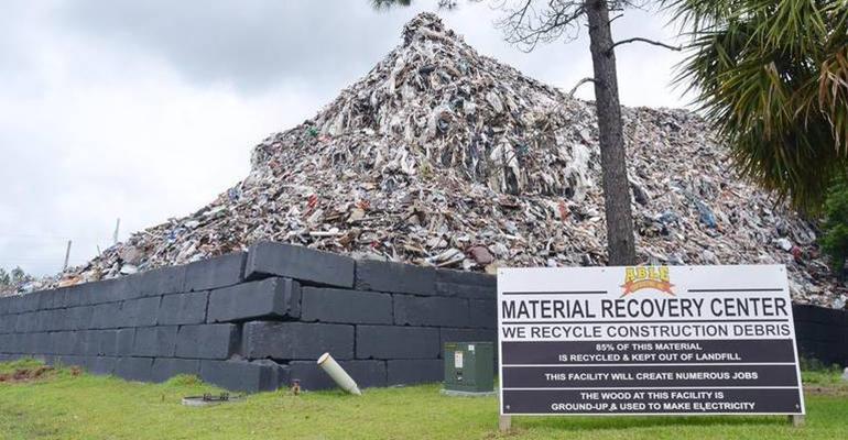 okatie trash mountain