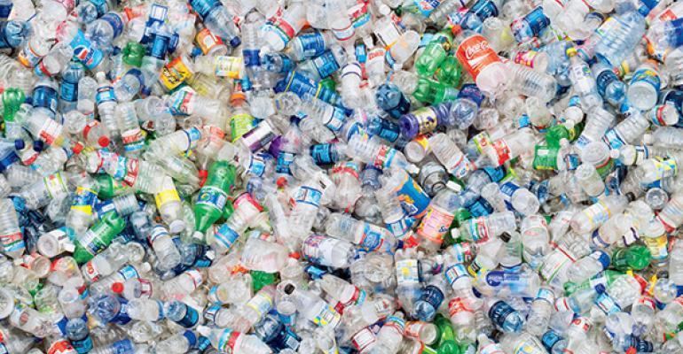 plastic bottles hundreds