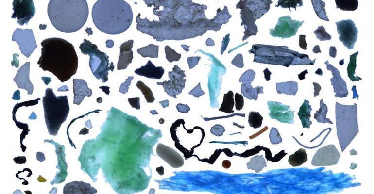 plastic trash arctic ocean