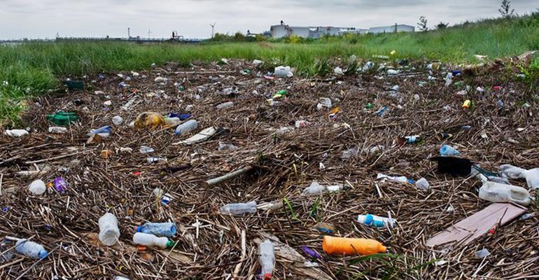 plastic waste London