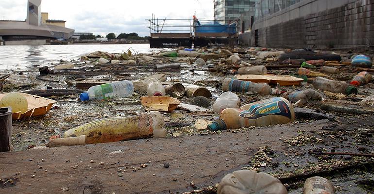 plastic waste england