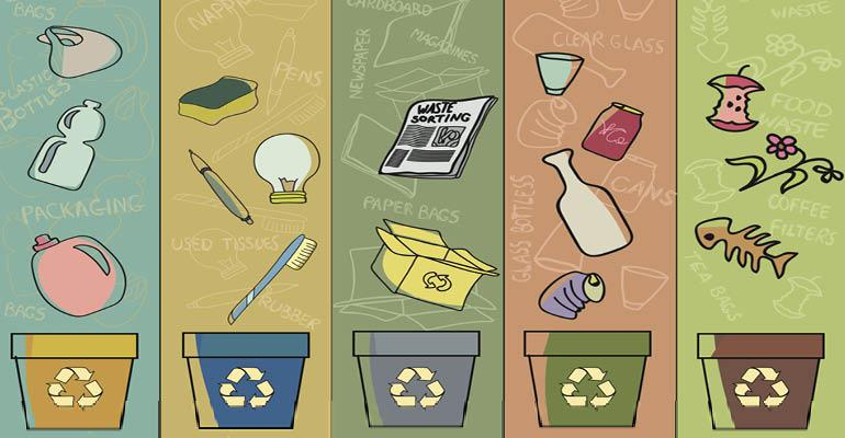 recycle-compost-bins