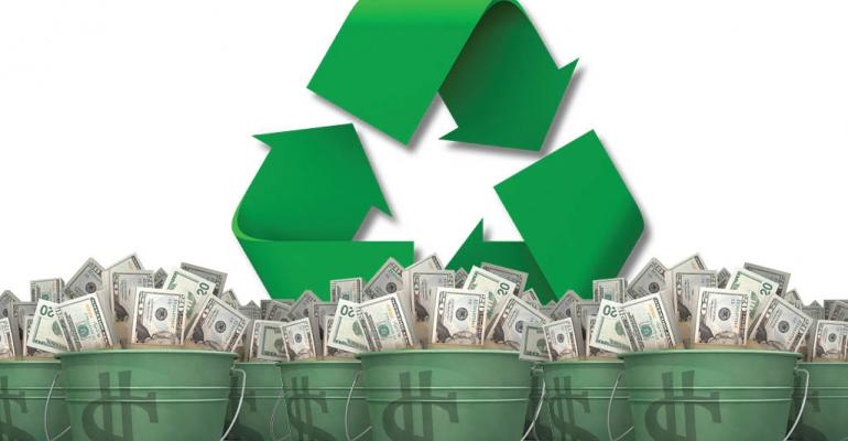 recycle-symbol-and-buckets-of-money