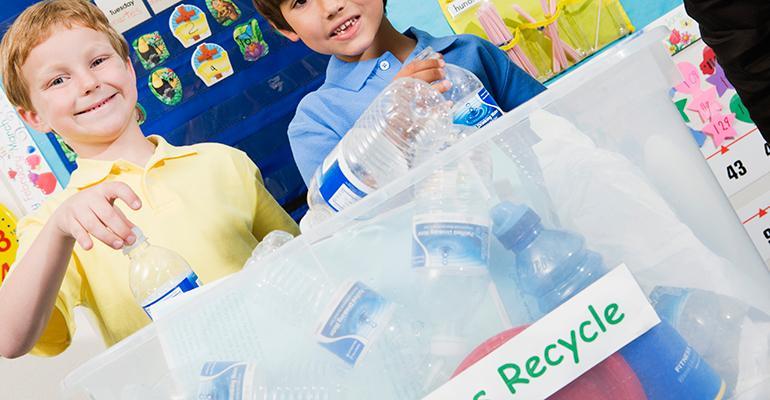 recycling classroom