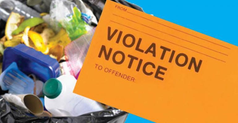 recycling-violation