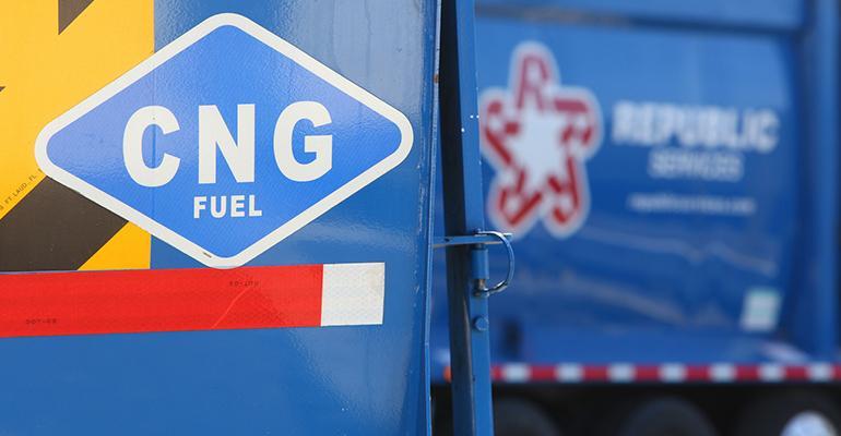 Republic CNG truck