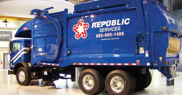 Republic Services truck