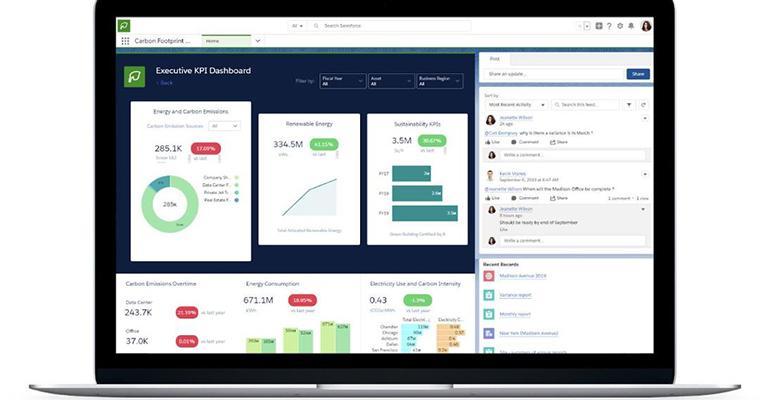 Salesforce Creates Cloud-based Carbon Footprint Tracker