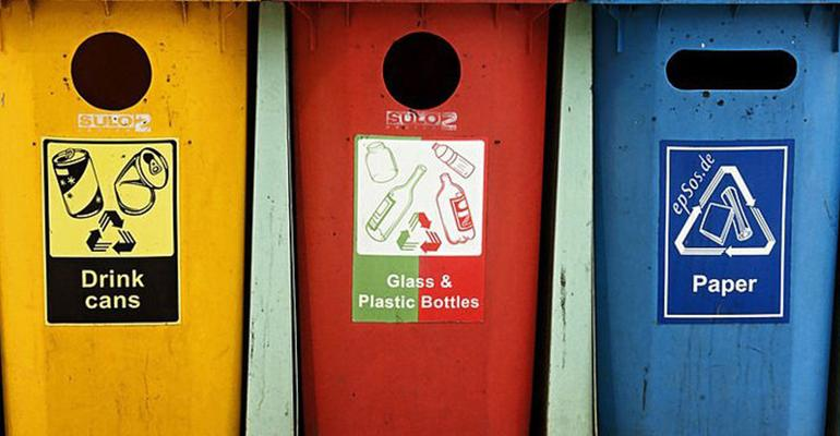 separation of recyclables