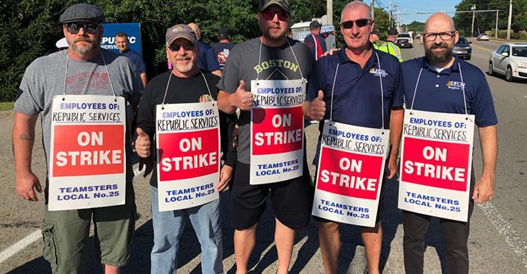 Boston-area Republic Workers End Strike, Quit Sanitation Jobs