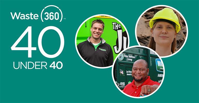 waste360 top 40 under 40