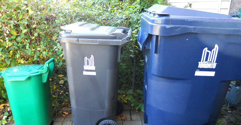 toronto recycling bins