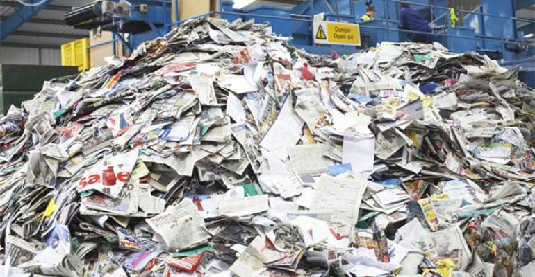 Recovered Paper Consumption Falls in Sept.