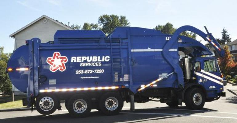 Republic Services Reports Strong Growth for Q3 2019
