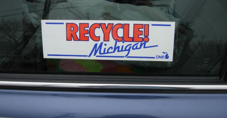 Michigan Unveils Plan to Increase Residential Recycling