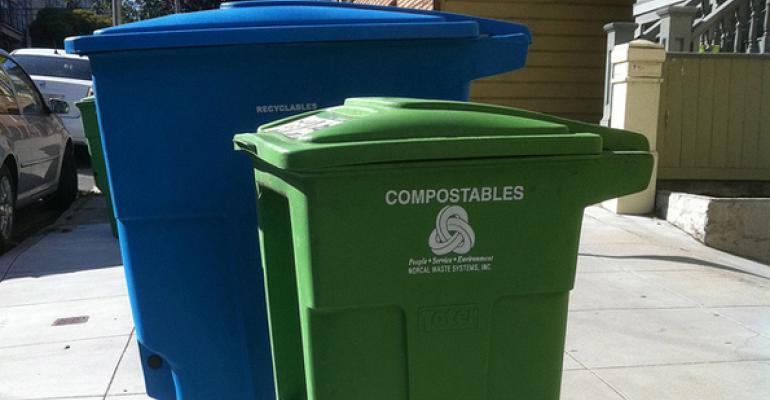 With Curbside Composting, Food Waste Not A Total Loss