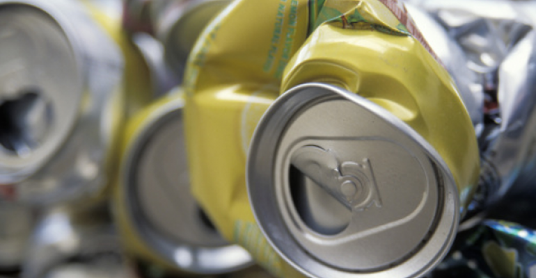 Report: Aluminum Can Dubbed Most Sustainable Beverage Package