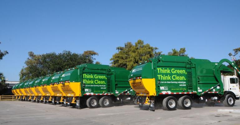 Waste Management Launches New CNG Fleet in Florida