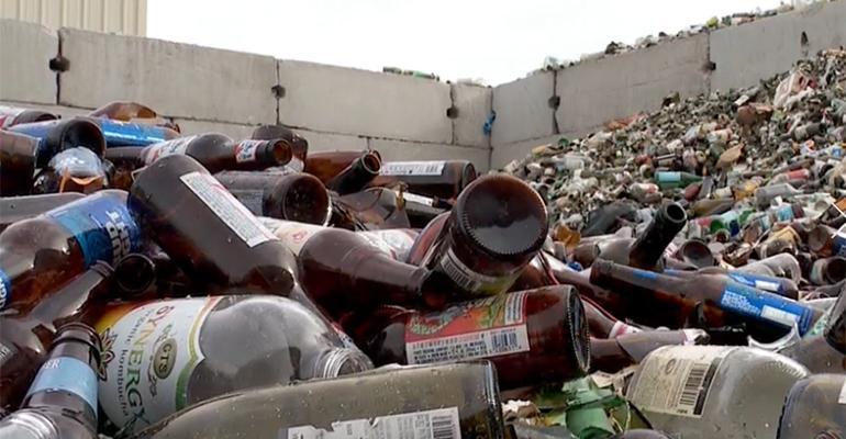 Utah glass recycling