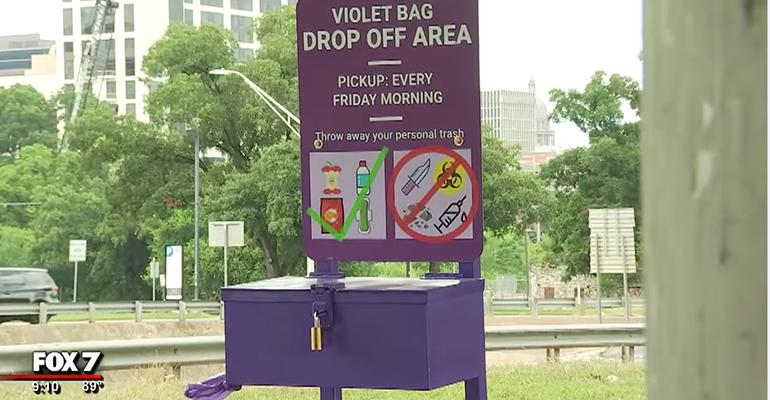 Austin, Texas, Expands Violet Trash Bag Program with Phase 2
