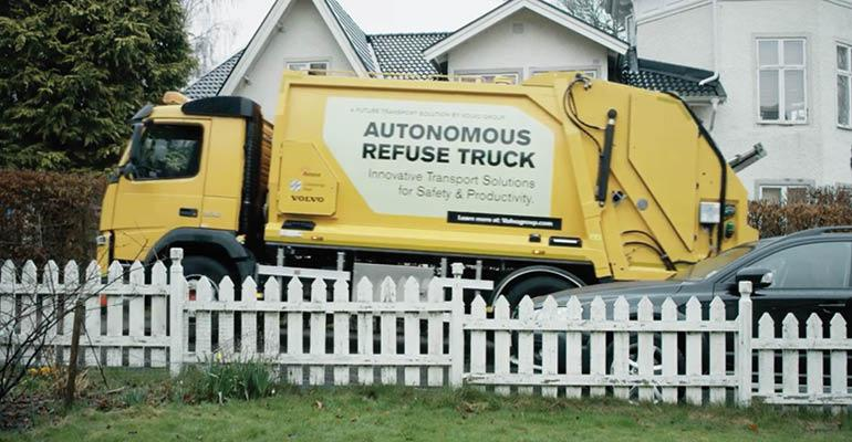 volvo-self-driving-garbage-truck
