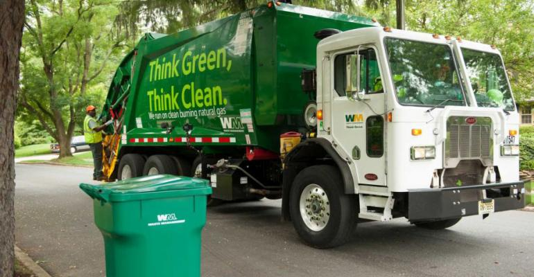 WasteManagement truck