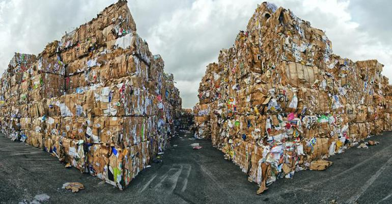 waste paper ban