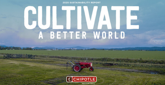 Chipotle Releases 2020 Sustainability Report, Achieves 50% Waste Diversion Goal