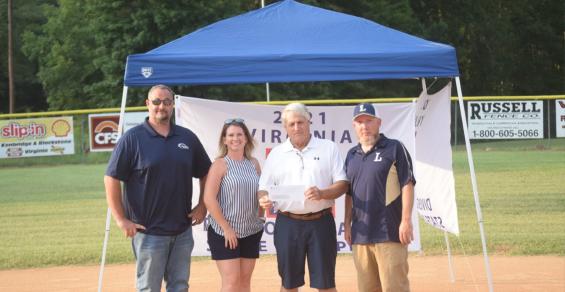 Meridian Waste Virginia Donates $4,500 to Lunenburg County Youth Baseball League