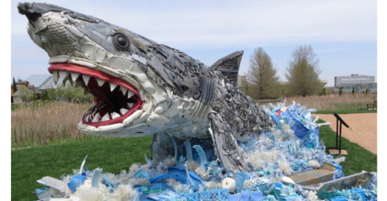 Washed Ashore Creates Zoo of Sea Creatures for Plastic Waste Art Exhibit