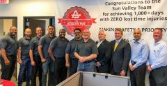 Athens' SV MRF Records 1,000-plus Days of No Lost-time Injuries