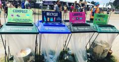 Eco-Products Helps Bonnaroo Turn Trash into Treasure
