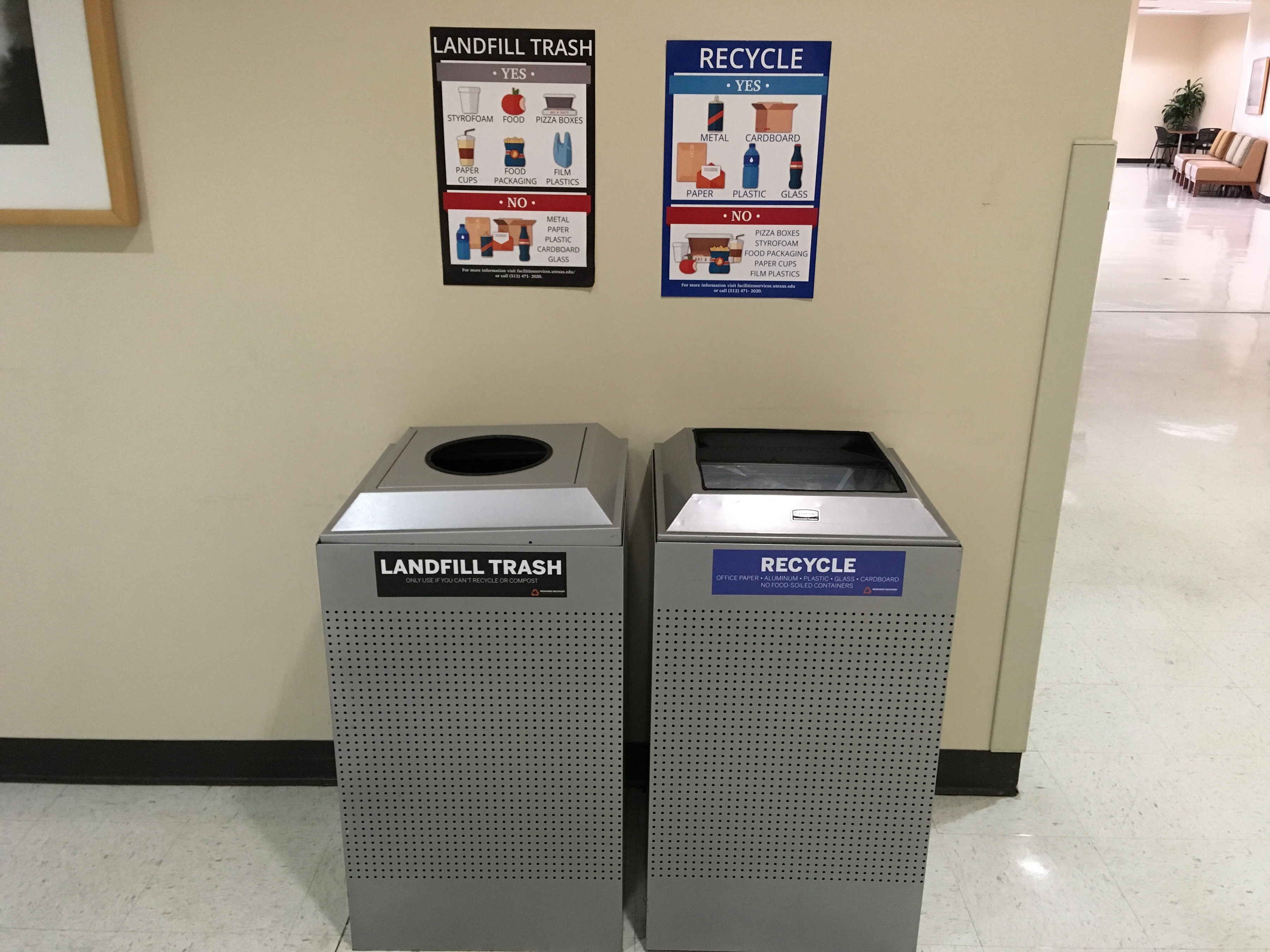 Austin Recycling Schedule 2020 University of Texas at Austin Tackles Waste in the Workplace